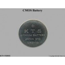 Pin Cmos KTS Lithium battery Japan std cr 2032