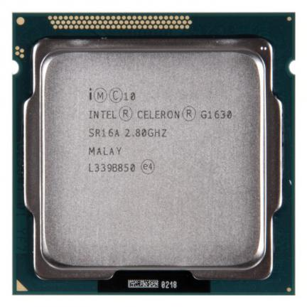 Intel® Celeron® Processor G1630  (2M Cache, 2.80 GHz)